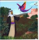 طائر الأرجوان فلسطين، تاريخ وحكاية